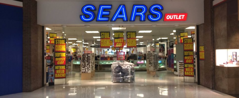 Liquidation sadness at Sears in Chatham as it prepares to close this fall. July 21, 2017. (Photo by Paul Pedro)