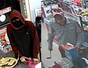 Provided by Windsor police. Suspects in a convenience store robbery on Lauzon and Little River Rd.