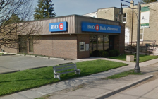 The Bank of Montreal at 190 King St. in Thorndale. Photo from Google Maps.