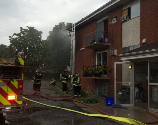 Apartment Fire Extinguished In Leamington