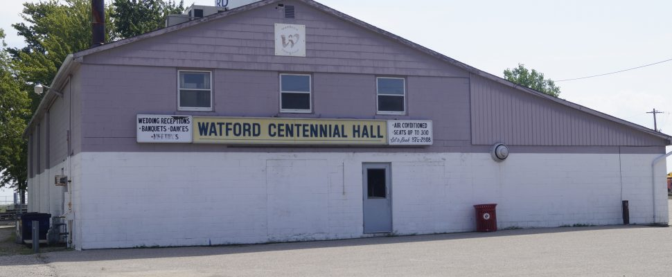 Watford Centennial Hall August 2017 (Photo by Melanie Irwin)