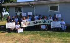 Activist group Water Wells First is reporting a second contaminated water well has been found in North Kent. Aug 02, 2017. (Photo by Paul Pedro)