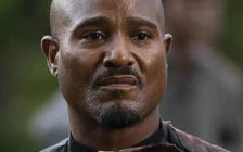Seth Gilliam, as The Walking Dead's Father Gabriel Stokes. Photo courtesy of London Comic Con.