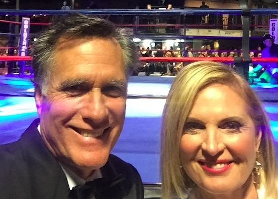 Photo of Mitt and Ann Romney from Twitter @MittRomney