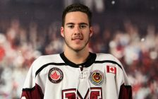 Chatham Maroons defenceman Jake O'Donnell. (Photo courtesy of Helen Heath)