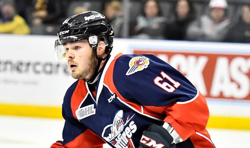 Spitfires Fall 4-3 To Steelheads In Shootout