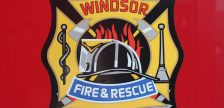 Windsor Fire and Rescue Services logo.