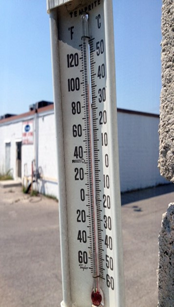 New Temperature Record Set As Heat Warning Continues