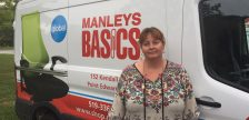 Manleys Basics owner Carolyn Leaver Luciani is frustrated by the federal government's small business tax proposal. September 19, 2017 (Photo by Melanie Irwin)
