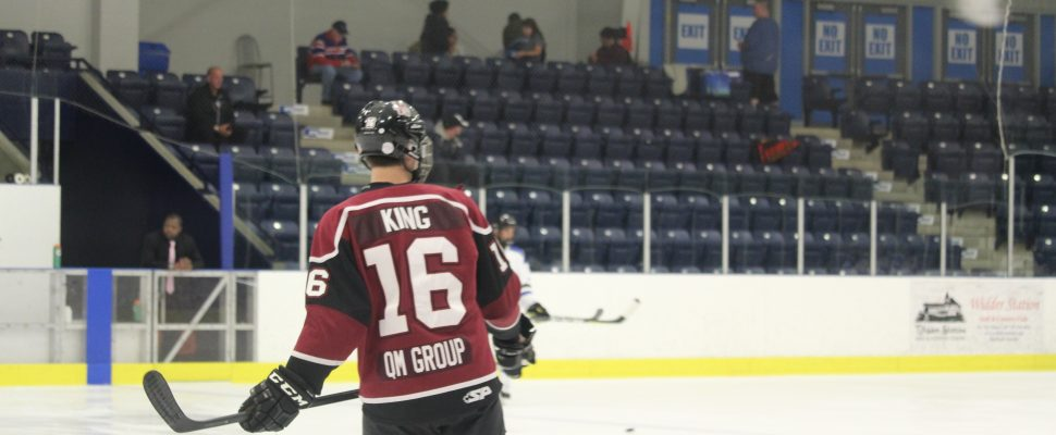Chatham Maroons forward Josh King. (Photo by Matt Weverink)