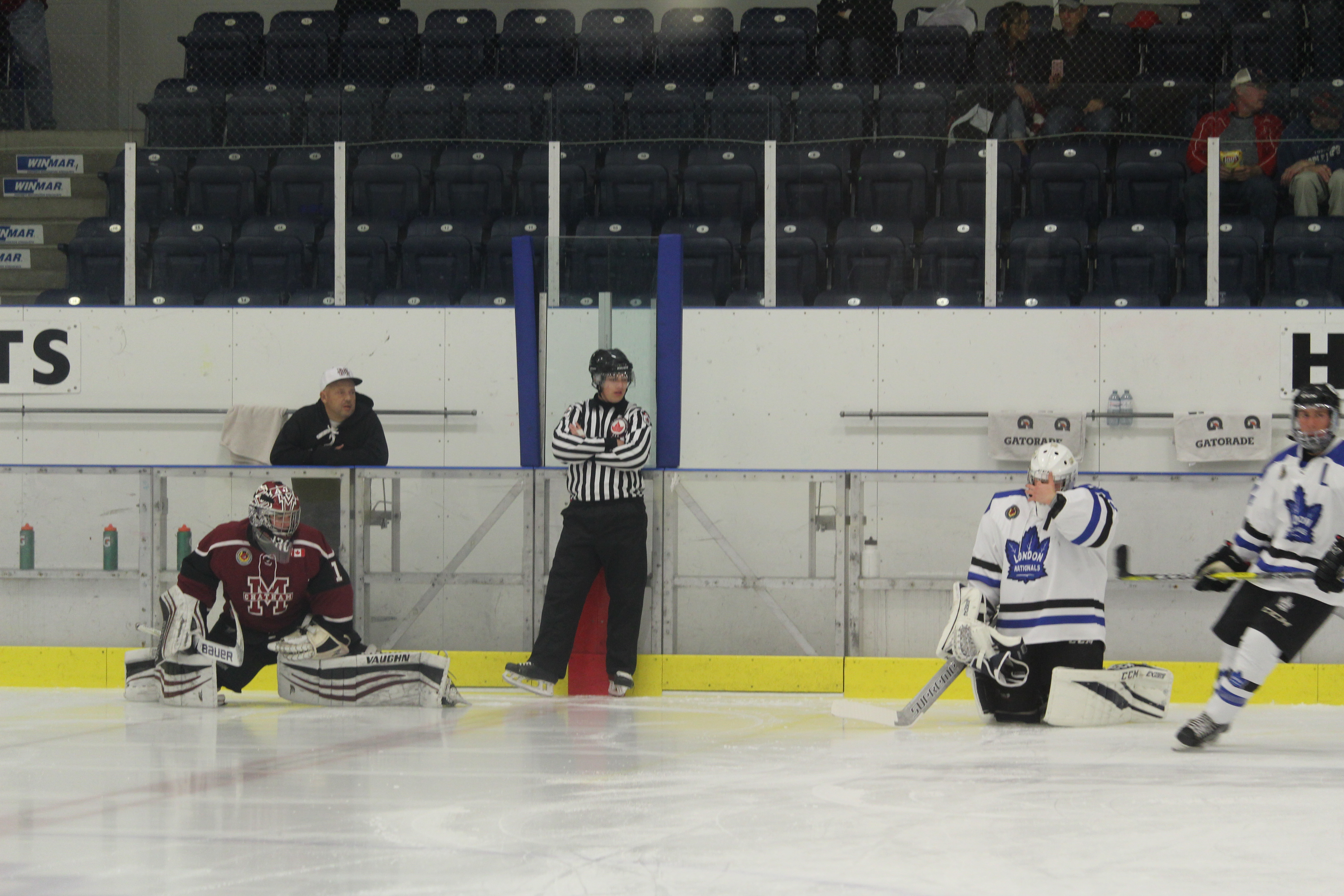 Maroons Lose 8-5 To Nationals