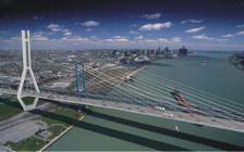 Provided by the Ambassador Bridge Enhancement Project
