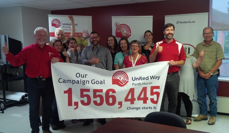 United Way Challenges Perth and Huron Residents