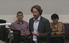 London's Medical Officer of Health Dr. Christopher Mackie speaks to committee members during a Strategic Priorities and Policy Committee meeting, September 18, 2017. (Photo courtesy of the City of London via YouTube)