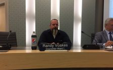 Essex Councillor Randy Voakes is losing two months salary for his erratic behaviour against the other councillors. Sept 05, 2017. (Photo by Paul Pedro)