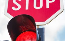 Stop light. (Photo by © Can Stock Photo / ngaga35)