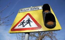 School safety zone. (Photo by © Can Stock Photo / anizza)