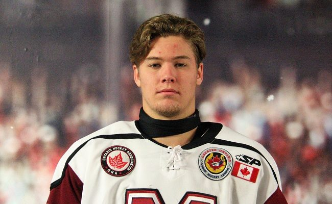 Chatham Maroons forward Josh Supryka. (Photo courtesy of Helen Heath)