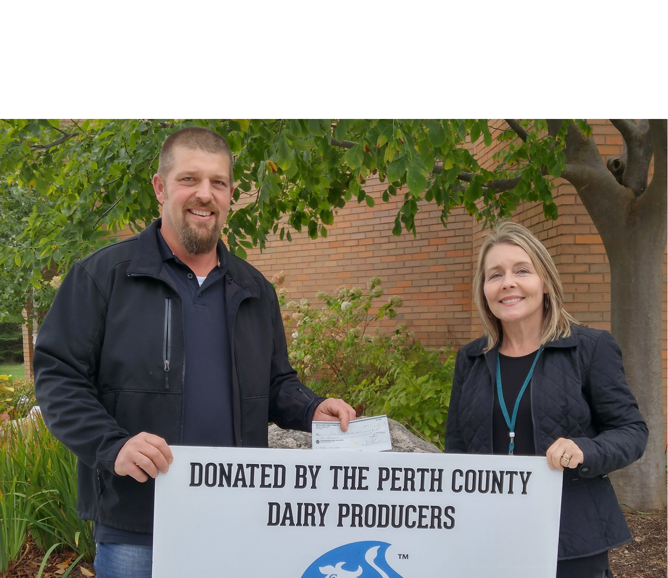 Health Unit Support From Perth County Dairy Producers