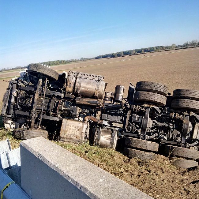 Charges Laid In Hwy. 401 Rollover