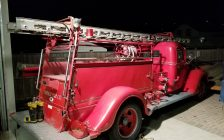 Point Edward 1939 Ford Bickle Fire Truck photo courtesy Village of Point Edward Facebook