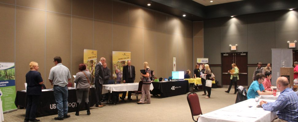 CK Works! Community Job Fair. October 11, 2017. (Photo by Sarah Cowan Blackburn News Chatham-Kent).