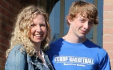 Lacie Brundritt and her son Kyle. (Photo courtesy of familiesfirst.ca)