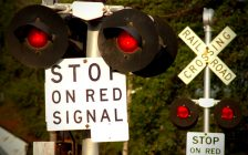 Rail crossing file photo courtesy of © Can Stock Photo / Jerryb9