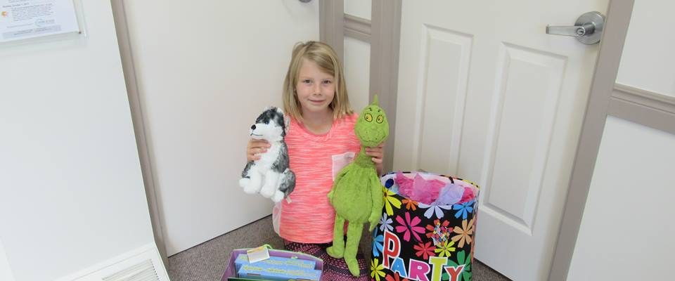 A Chatham girl is making a difference at CKHA after going through some adversity herself. (Photo courtesy of Foundation of CKHA)