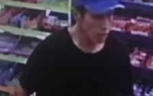 Chatham-Kent police are looking for this man after some scratch tickets were stolen from a Wallaceburg convenience store. (Photo courtesy of Chatham-Kent police)
