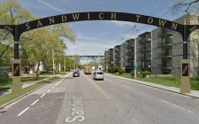 An artists rendering of what the Olde Sandwich Towne arch would look like courtesy of citywindsor.ca.
