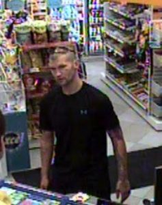 CKPS are looking for a man following a theft of gas. Oct 02, 2017. (Photo courtesy of CKPS)