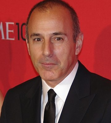 Matt Lauer at the 2012 Time 100 gala. (Photo by David Shankbone)