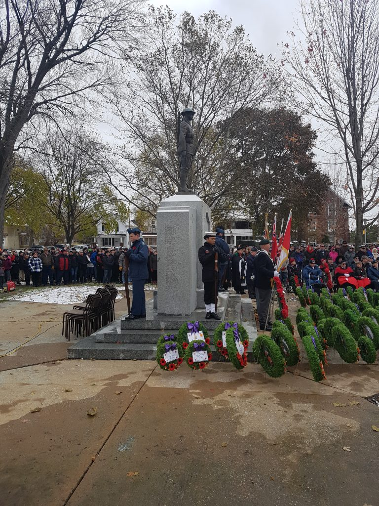 Remembrance Day Ceremony 8