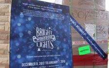 Bright Lights Windsor set to launch in Jackson Park in December. (Photo by Maureen Revait)