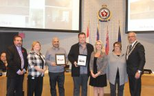 The Chatham-Kent Chamber of Commerce announces latest winners of Feature Act program at council. November 6, 2017. (Photo by Sarah Cowan Blackburn News Chatham-Kent).