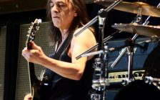Malcolm Young, AC/DC founder and guitarist. Photo from Wikimedia Commons.