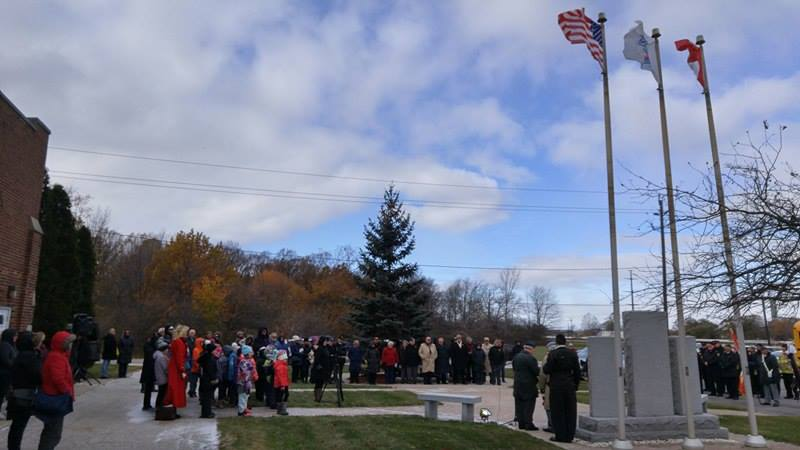 Aamjiwnaang Remembrance Day 2017