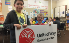 United Way of Sarnia-Lambton funds Boys & Girls Club & provides a variety of drop in/after school/summer programs for children aged 5 - 18. (Photo submitted.)