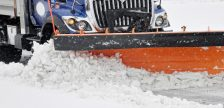 Snow plow file photo courtesy of © Can Stock Photo / svanhorn
