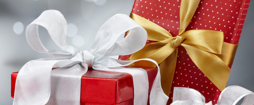 Christmas presents. (Photo by © Can Stock Photo / ifong).