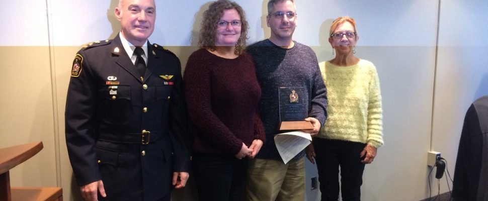 St Thomas Gas Prices >> BlackburnNews.com - Hero Trucker Recognized By Police Board