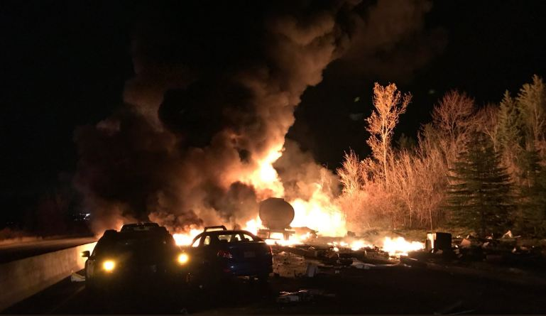 Multiple fatalities reported in fiery Hwy. 400 crash