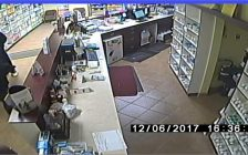Pharmacy robbery. December 6, 2017. (Photo courtesy of Sarnia Police Service).