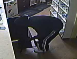Sarnia pharmacy robbery. December 6, 2017. (Photo courtesy of Sarnia Police Service).