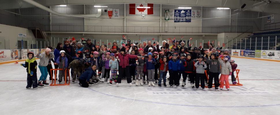 National Skate Day at Clinton Arena. Photo courtesy of Bob Montgomery.