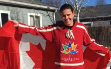 Photo of Christine Sinclair from Twitter @sincy12