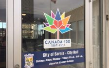 The hours of operation at Sarnia City Hall are set to change. December 5, 2017 (Photo by Melanie Irwin)