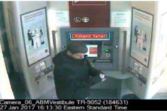 OPP Release Photos of Theft Suspects At Stratford ATM