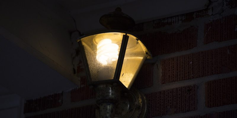 Porch light. (Photo courtesy of © Can Stock Photo / tornado98)